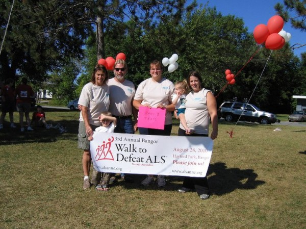 The Klenowski family of Bucksport walks every year to raise money for ALS research. This year, Heidi Klenowski will be participating is an Ice Bucket Challenge at Carriers in Bucksport.