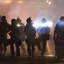 Change hard to handle for Ferguson police