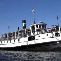 See the historic Katahdin steamship over the years