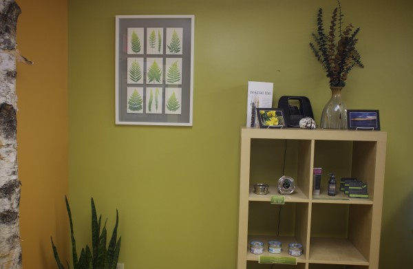 The Wellness Connection of Maine in Brewer recently remodeled their medical marijuana dispensary.