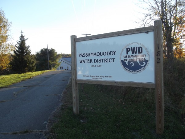 The Passamaquoddy Water District