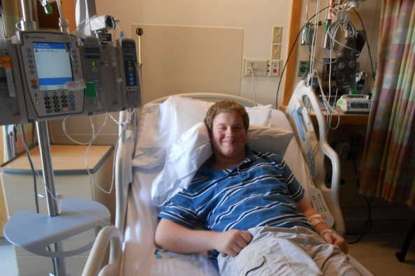 Sam Clark, a 16-year-old student at Camden Hills Regional High School, is awaiting a heart transplant.