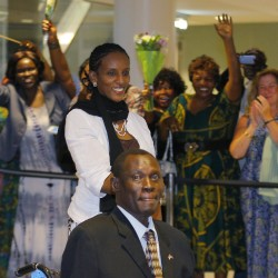 South Sudanese vice president tells Portland-area countrymen to seize opportunities in their new home