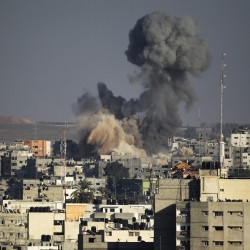 Why was there war in Gaza?