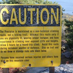 Climbing instructor in fair condition after falling 60 feet in Acadia