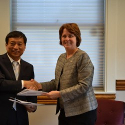 University of Maine at Presque Isle forges partnership with Chinese university