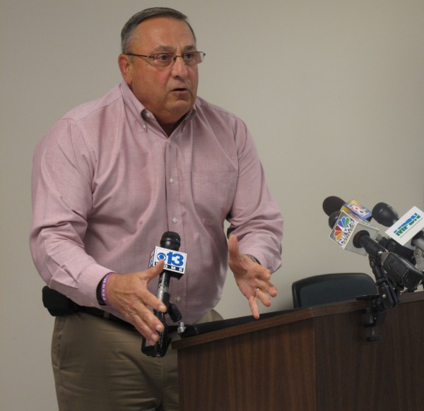 Incumbent Republican Gov. Paul LePage