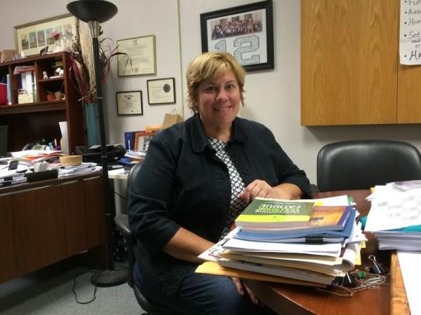 Portland High School Principal Deborah Migneault