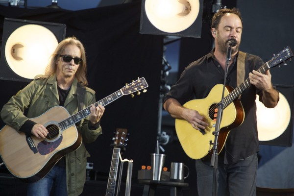 Tim Reynolds (left) and Dave Matthews perform &quotTwo Step&quot at the Darling's Waterfront Pavilion in Bangor in this June 2014 file photo.