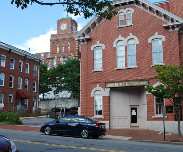 Eight historic buildings, including the former North School and India Street Firehouse, are viewed as integral to the identity of the India Street neighborhood in a report recommending code and zoning amendments to enhance preservation and create a mixed-use neighborhood.