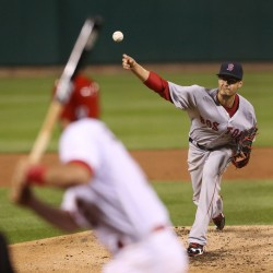 Red Sox trade pitcher Lackey to Cardinals; Miller dealt to Orioles, Drew to Yankees