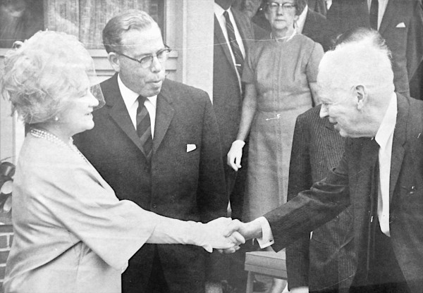 The Queen Elizabeth, known as the Queen Mother, visited Campobello Island on July 14, 1967. The Roosevelt Campobello International Park is marking its 50th anniversary on Saturday.
