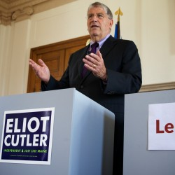 Why Eliot Cutler is so eager to debate Michaud, LePage