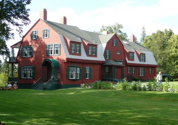 Until his death in 1945, Franklin Delano Roosevelt stayed at his summer cottage on Campobello Island. This picture was taken in 2010.