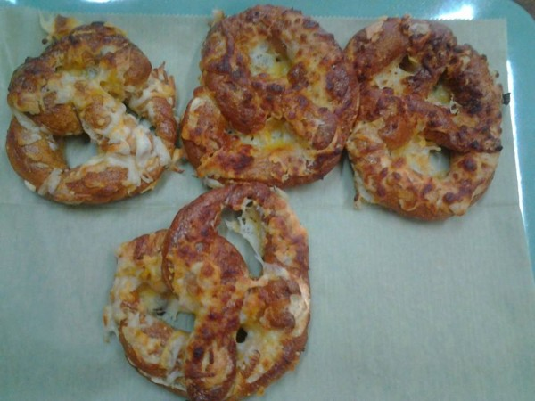 Promise pretzels, homemade with all natural ingredients and a cheese filling, are just one type of baked good for sale at The County Co-op and Farm Store Cafe, which  opened on July 28 at 53 Main St. in Market Square in Houlton.