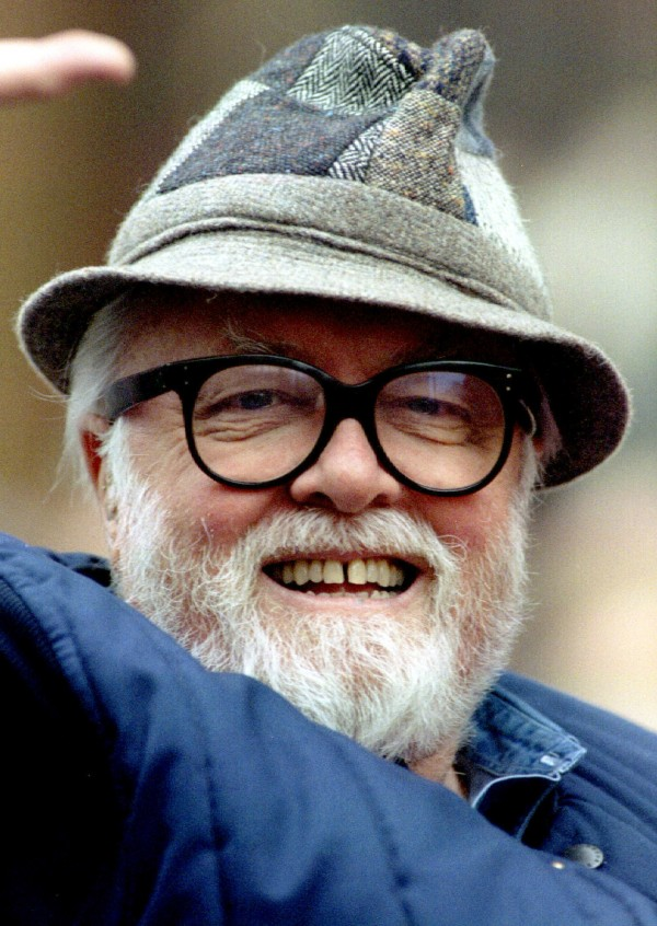 British film director and actor Sir Richard Attenborough died Aug. 24 at the age of 90.