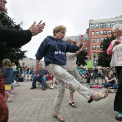 Kid power rules downtown Bangor this weekend