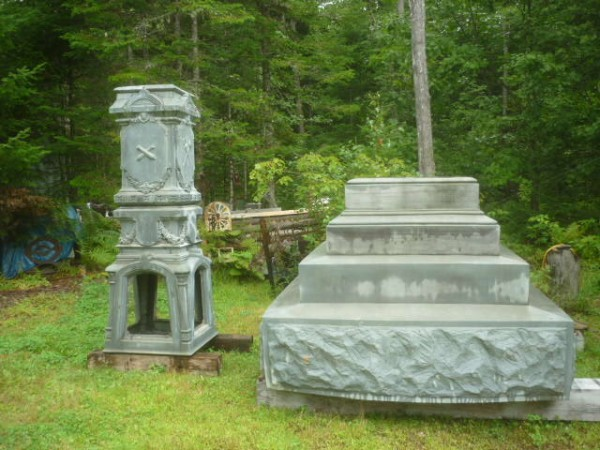 The Orono Historical Society would like to save the pedestal and base of the Orono Civil War statue, which are both damaged from 125 years of Maine weather and vandals.