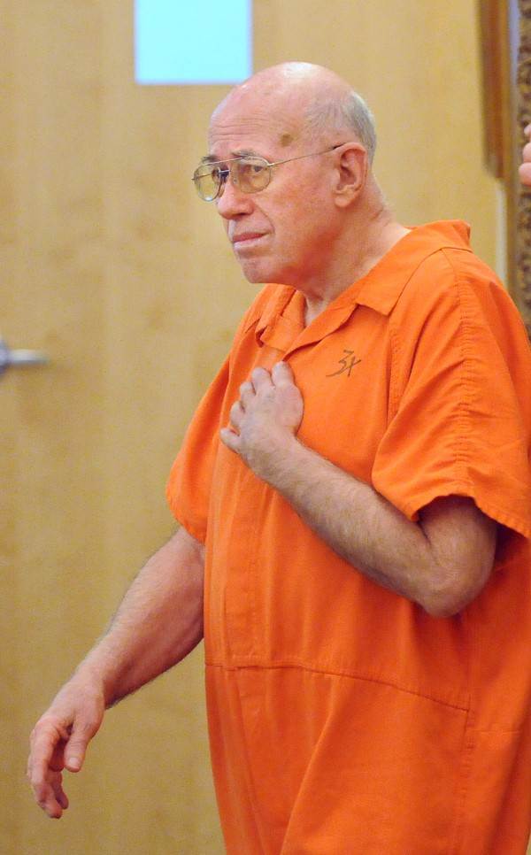 Carl E. Smith, 72, of Eddington was arraigned Monday for allegedly sexually abusing five-year-old twin girls earlier this year. Smith -  the former police chief of Howland - pleaded not guilty to the charges at the Penobscot Judicial Center.