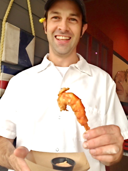 The deep-fried lobster tail at Wicked Tails in Kennebunkport was invented by chef Brendan Levin.