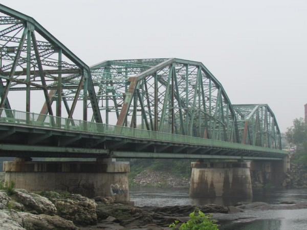 The Frank J. Wood Bridge is shown in June 2014