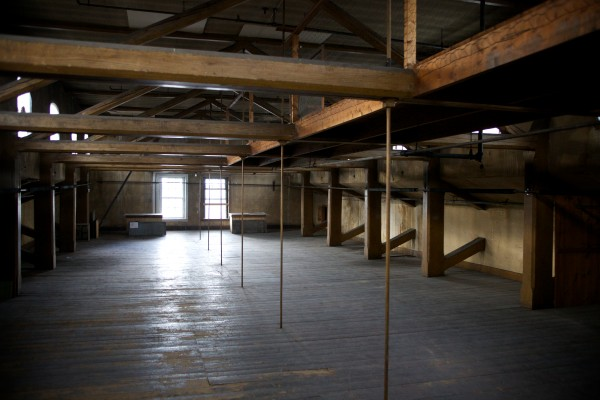 A fourth floor attic space once housed Civil War soldiers in Mechanics Hall in Portland. The Maine Charitable Mechanics Association, the non-profit organization that owns and operates Mechanics Hall, is partnering with Acorn Productions in completing renovations to the third floor ballroom space so the venue can be licensed for public performances.