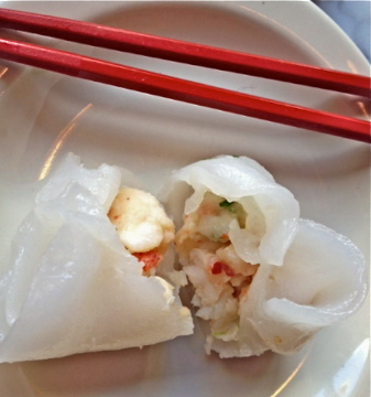 Lobster dumplings at Empire Chinese Kitchen made Food and Wine magazine this month as a top Portland plate.