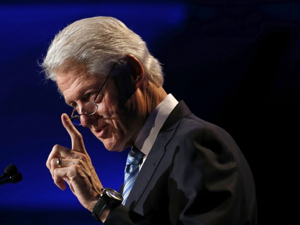 Former U.S. President Bill Clinton speaks at the Clinton Global Initiative America meeting in Chicago, Illinois, in this June 2013 file photo.