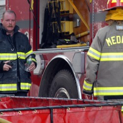 Mattawamkeag residents protest reinstatement of fire chief