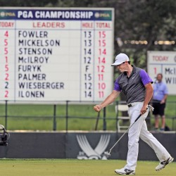 McIlroy near the top with 67 at PGA Championship