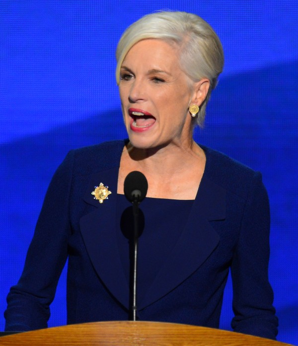Planned Parenthood president Cecile Richards speaks on the second night of the 2012 Democratic National Convention