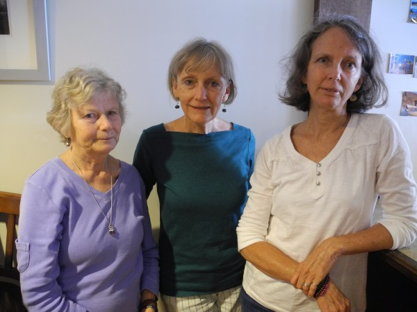 Sue Goodridge Crane, left, Carol Goodridge and Toni Goodridge reminisced this week about Andre the Seal, the harbor seal their father adopted as a baby and who came home to their family for 25 years.