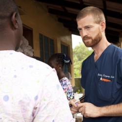 Plane carrying American aid worker stricken with Ebola stops to refuel in Bangor