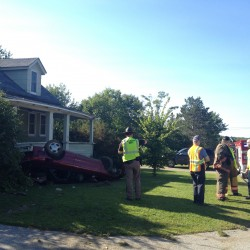 Youth injured in Brewer driveway accident