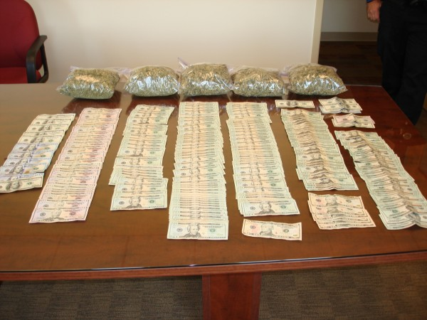Old Orchard Beach police confiscated $7,000 and 7 pounds of marijuana from the car and home of Stanley Dunham, 54, this month.
