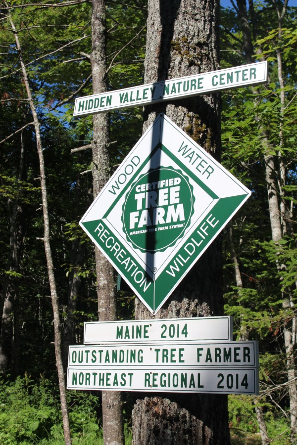 Hidden Valley Nature Center co-founders Bambi Jones and David &quotTracy&quot Moskovitz were awarded the 2014 Outstanding Tree Farmers of Maine as well as the Outstanding Tree Farmers of the Northeast Region by the American Tree Farm System.