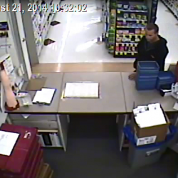 Search under way for Corinth pharmacy robber