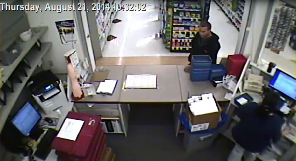 Police are looking for a suspect who robbed the Rite-Aid Pharmacy on Spring Street in Gardiner Thursday morning.