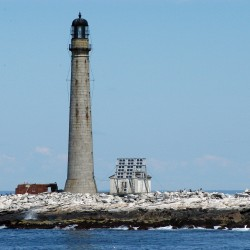 Coin flip ends lighthouse bidding war