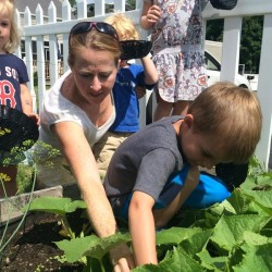 Woodland student garden featured at lunch