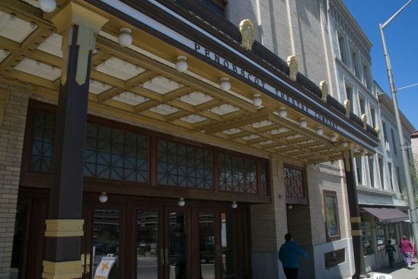 The Penobscot Theatre on Main Street in downtown Bangor.