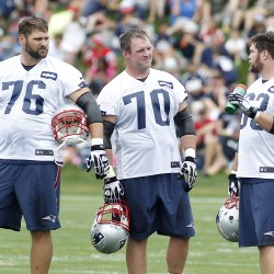 Rested Patriots back at practice after bye week