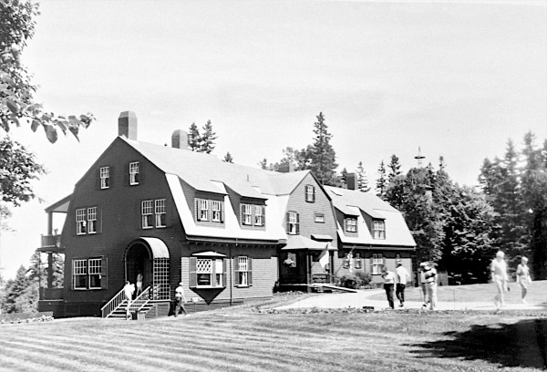 Pictured is the Roosevelt's cottage located at Roosevelt Campobello International Park, which is marking its 50th anniversary on Saturday.
