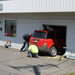 St. Agatha woman drives into store in Madawaska