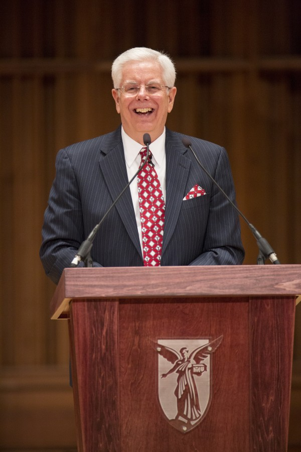 Paul Ferguson, former University of Maine president, left for a position at Ball State University in Indiana.