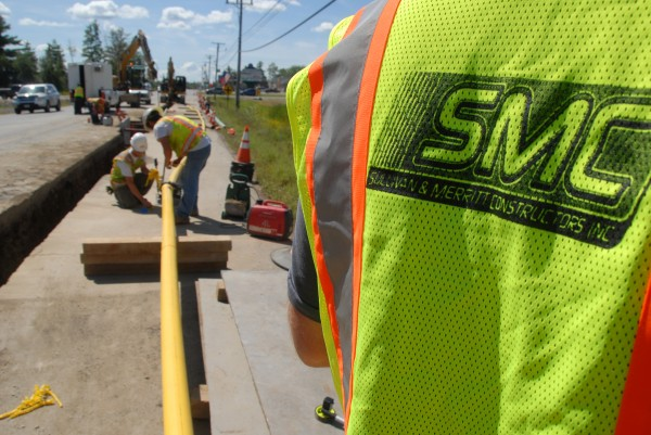 Sullivan and Merritt Constructors Inc. say traffic on West Broadway in Lincoln should return to normal in about two weeks, or by early September.