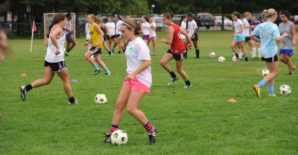 The Bangor High School girls soccer team has its first practice of the season on Monday in Bangor.