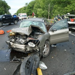 Holden teen suffers minor injuries in freak accident on Route 1A