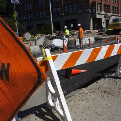 Bangor closes lanes, shuts down portions of streets as crews replace century-plus-old water, sewer lines