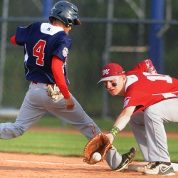 Glenburn youth wears hats of teams, attends all Senior League World Series games